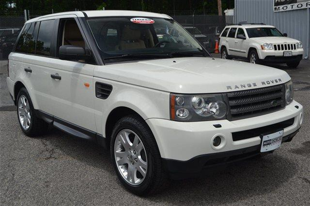 2006 LAND ROVER RANGE ROVER SPORT HSE 4DR SUV 4WD chawton white low miles for a 2006 navigati
