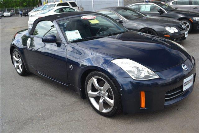 2007 NISSAN 350Z - CONVERTIBLE san marino blue pearl new arrival low miles this 2007 nissan 3