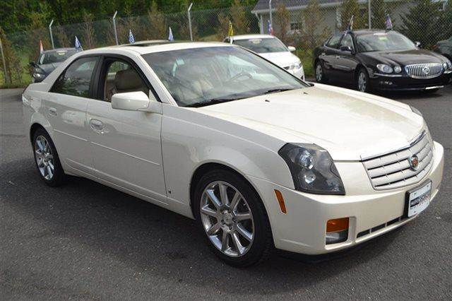 2007 CADILLAC CTS 4DR SEDAN 36L SEDAN white diamond tricoat priced below market this 2007 cad