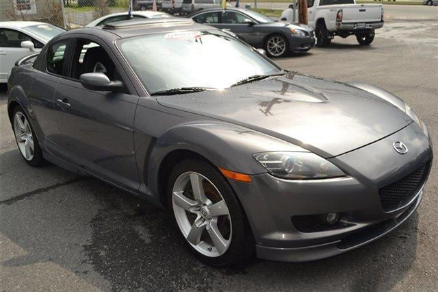 2007 MAZDA RX-8 TOURING COUPE galaxy gray mica new arrival carfax one owner this 2007 mazda r