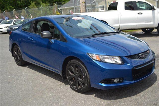 2013 HONDA CIVIC SI dyno blue pearl value priced below market bluetooth backup camera sunr