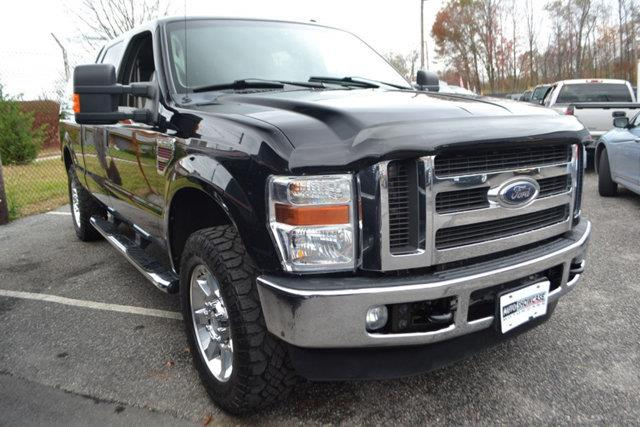 2008 FORD F-250 SUPER DUTY - black this 2008 ford super duty f-250 srw - features a 64l 8 cylind