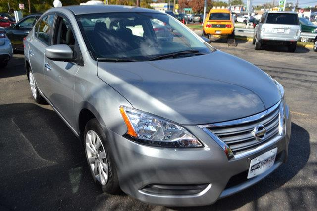 2014 NISSAN SENTRA SV 4DR SEDAN gray this 2014 nissan sentra sv features a 18l 4 cylinder 4cyl g