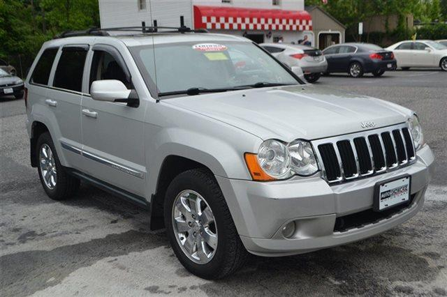 2009 JEEP GRAND CHEROKEE LIMITED 4X4 4DR SUV bright silver metallic priced below market thisgra
