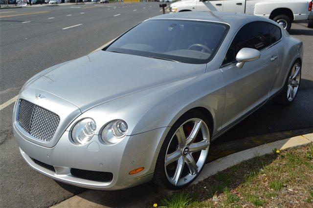 2005 BENTLEY CONTINENTAL GT BASE 2DR TURBO COUPE silver tempest low miles for a 2005 navigati