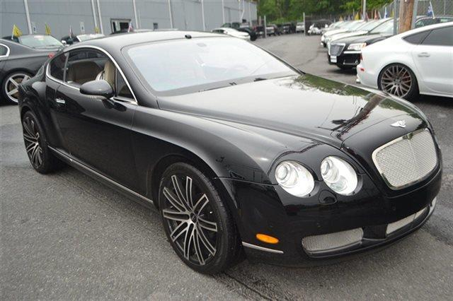 2006 BENTLEY CONTINENTAL GT BASE AWD 2DR COUPE black value priced below market park distance c