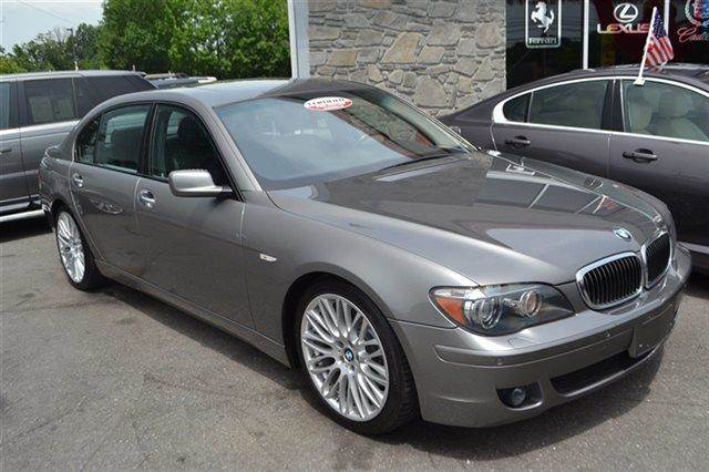 2007 BMW 7 SERIES 750LI 4DR SEDAN moonstone metallic priced below market this7 series will sell