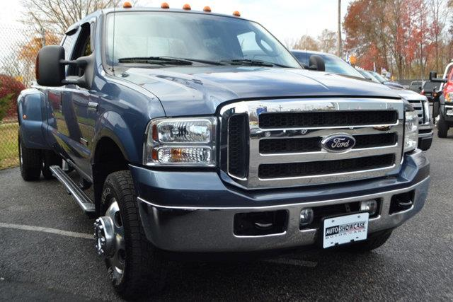 2006 FORD F-350 SUPER DUTY XLT CREW CAB 4WD DRW blue this 2006 ford f-350 sd