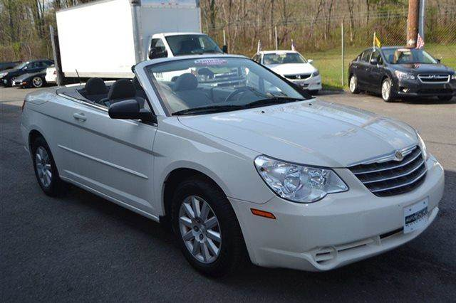 2008 CHRYSLER SEBRING LX CONVERTIBLE stone white warranty included a factory warranty is include