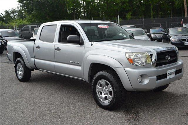 2008 TOYOTA TACOMA V6 4X4 4DR DOUBLE CAB 61 FT LB silver streak mica new arrival value price
