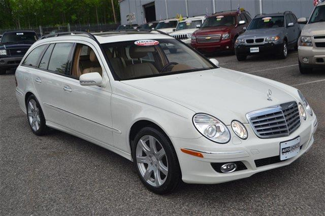 2008 MERCEDES-BENZ E-CLASS E350 4MATIC AWD 4DR WAGON arctic white value priced below market su