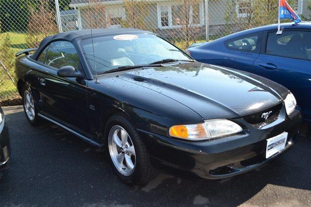 1995 FORD MUSTANG GT 2DR CONVERTIBLE black new arrival automatic low miles popular color