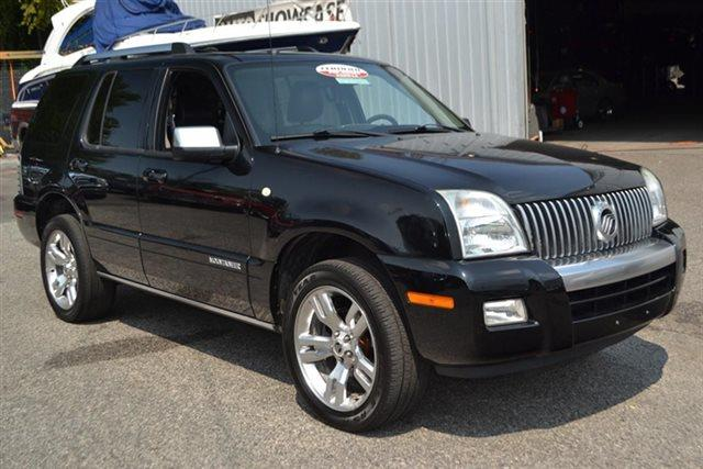 2009 MERCURY MOUNTAINEER PREMIER AWD 4DR SUV V8 black low miles carfax one owner - carfax guar
