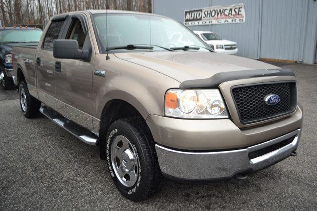2006 FORD F-150 FX4 SUPERCREW tan this 2006 ford f-150 fx4 supercrew features a 54l 8 cylinder 8