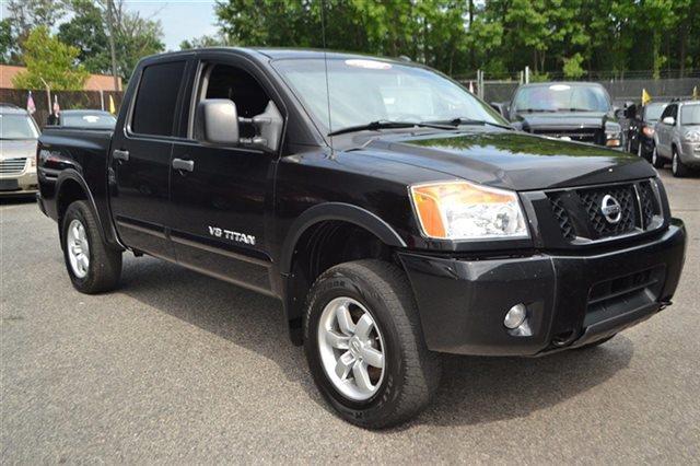 2011 NISSAN TITAN 4WD CREW CAB SWB PRO-4X 4X4 TRUC galaxy black new arrival value priced below