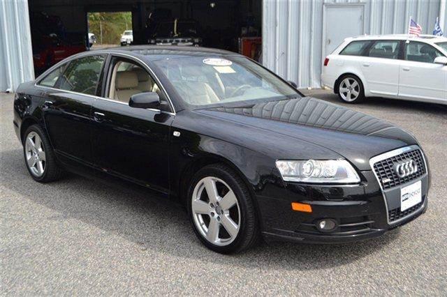 2008 AUDI A6 32 QUATTRO AWD 4DR SEDAN black this 2008 audi a6 4dr sedan 32l quattro awd sedan w