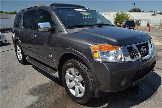 2008 NISSAN ARMADA 4WD 4DR LE smoke new arrival low miles this 2008 nissan armada le will se