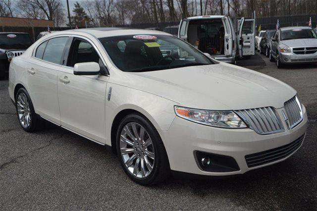 2009 LINCOLN MKS BASE 4DR SEDAN white suede warranty included a factory warranty is included wit