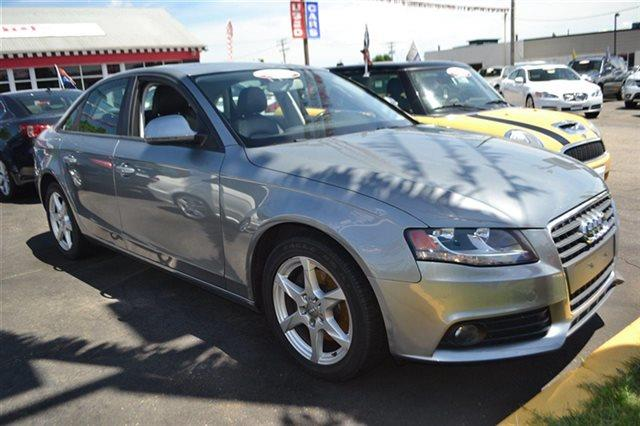 2009 AUDI A4 20T QUATTRO AWD PREMIUM 4DR SED meteor gray pearl effect new arrival priced below