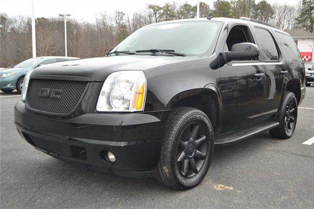 2008 GMC YUKON DENALI AWD 4DR SUV black heated seats premium sound package keyless start c