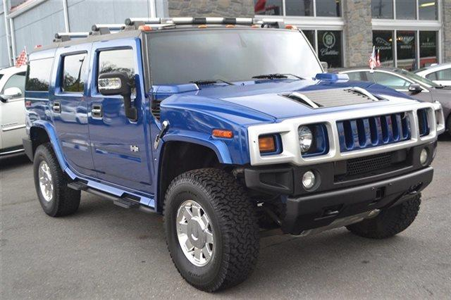 2006 HUMMER H2 BASE 4DR SUV 4WD pacific blue new arrival this 2006 hummer h2 4dr wagon 4wd suv a