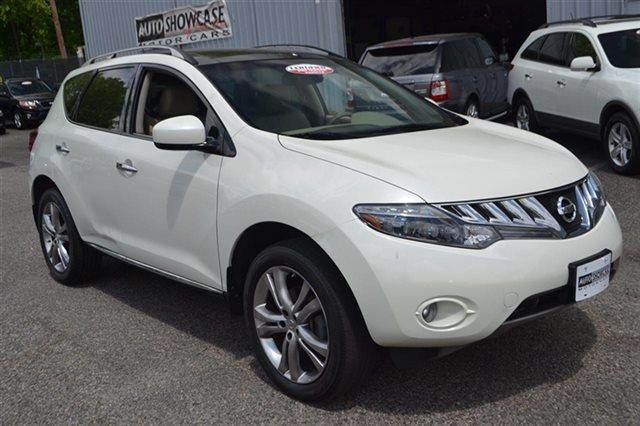 2009 NISSAN MURANO AWD 4DR SL glacier pearl backup camera navigation premium sound package