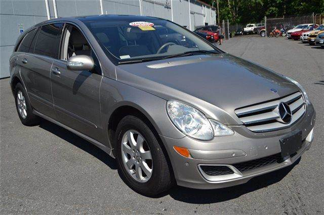 2006 MERCEDES-BENZ R-CLASS R350 AWD 4MATIC 4DR WAGON desert silver metallic new arrival value
