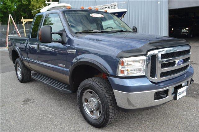 2007 FORD F-250 SUPER DUTY - med wedgewood blue metallic new arrival manual low miles popu