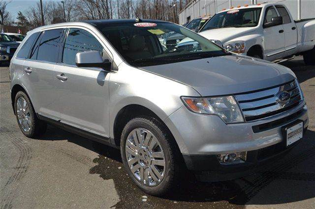 2010 FORD EDGE LIMITED AWD 4DR SUV silver 4wd priced below market this 2010 ford edge limite