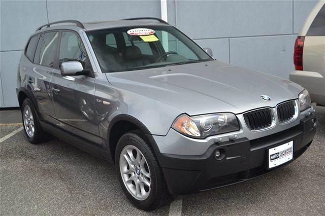 2004 BMW X3 25I AWD 4DR SUV silver grey metallic carfax one owner this 2004 bmw x3 25i will