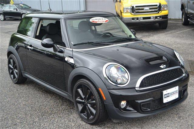 2011 MINI COOPER S 2DR HATCHBACK midnight black metallic low miles carfax one owner - carfax g