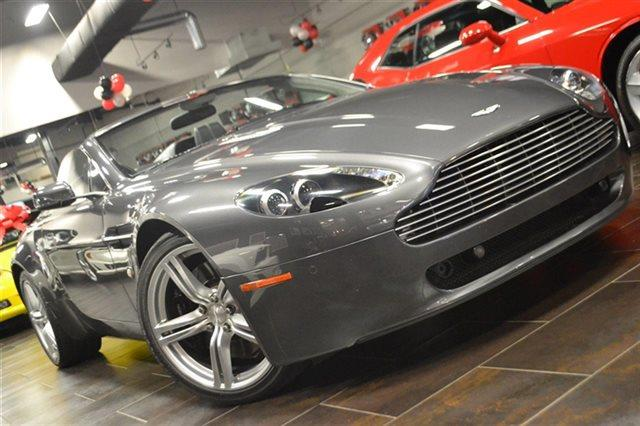 2009 ASTON MARTIN V8 VANTAGE ROADSTER 2DR CONVERTIBLE meteorite silver low miles this 2009 asto
