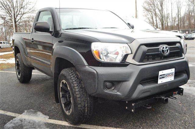 2012 TOYOTA TACOMA BASE 4X4 2DR REGULAR CAB 61 FT black 4wd this 2012 toyota tacoma 4wd reg ca