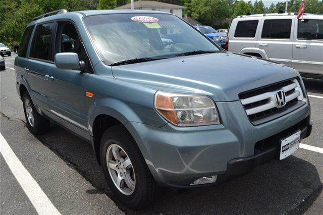 2007 HONDA PILOT EX-L WDVD 4DR SUV 4WD WDVD steel blue metallic new arrival low miles this