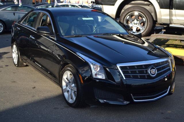 2013 CADILLAC ATS 25L 4DR SEDAN black this 2013 cadillac ats 4dr 4dr sedan 25l rwd features a 2
