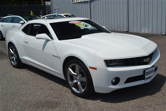 2012 CHEVROLET CAMARO LT 2DR COUPE W2LT summit white heated seats premium sound package key