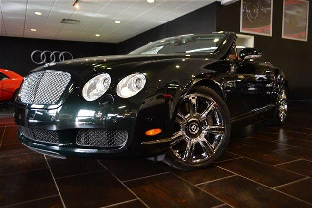 2007 BENTLEY CONTINENTAL GTC BASE AWD 2DR CONVERTIBLE green priced below market this 2007 bent
