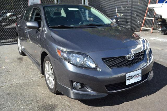 2010 TOYOTA COROLLA 4DR SEDAN MANUAL S grey this 2010 toyota corolla 4dr 4dr sedan manual s featu