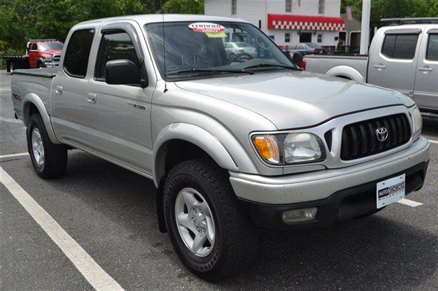 2003 TOYOTA TACOMA PRERUNNER V6 4DR DOUBLE CAB RWD lunar mist metallic priced below market thi