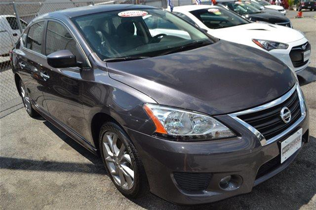 2013 NISSAN SENTRA 4DR SEDAN I4 CVT SR magnetic gray warranty a limited warranty is included with