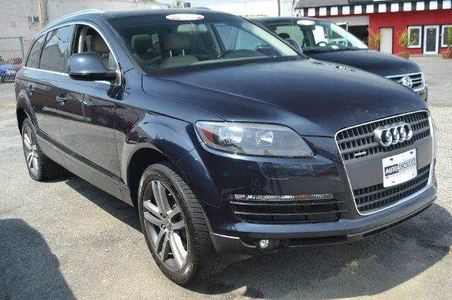 2009 AUDI Q7 36 QUATTRO AWD PREMIUM 4DR SUV steel grey 2-stage unlocking 4wd type - full time