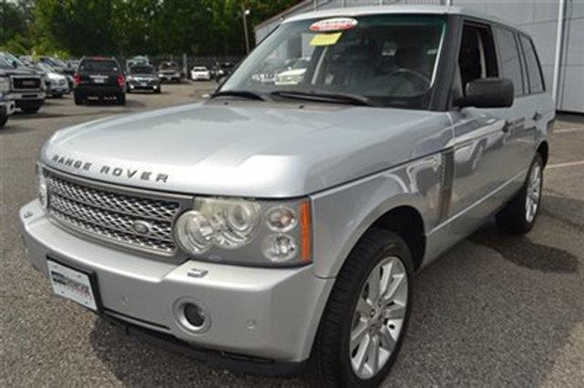 2006 LAND ROVER RANGE ROVER SUPERCHARGED 4DR SUV 4WD zambezi silver this 2006 land rover range ro