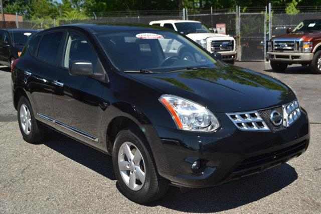 2012 NISSAN ROGUE AWD 4DR S super black this 2012 nissan rogue 4dr awd 4dr s features a 25l 4 cy