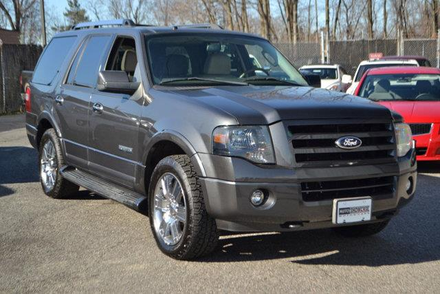 2007 FORD EXPEDITION LIMITED 4DR SUV 4X4 gray this 2007 ford expedition 4dr 4wd 4dr limited featu