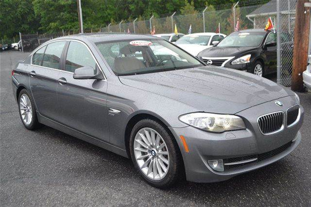 2011 BMW 5 SERIES 535I XDRIVE AWD 4DR SEDAN cashmere silver metallic new arrival value priced