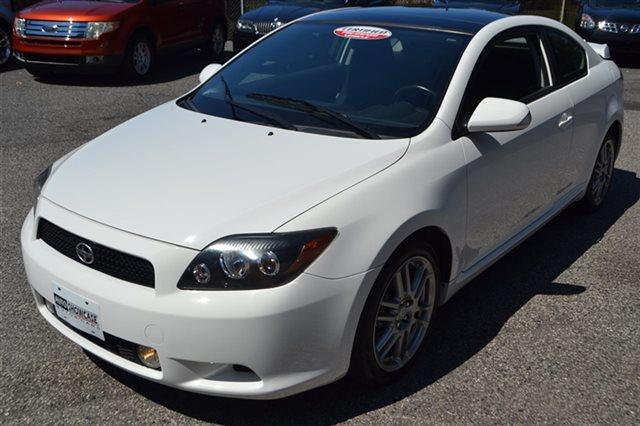 2009 SCION TC 2DR HATCHBACK AUTOMATIC white warranty a limited warranty is included with this veh