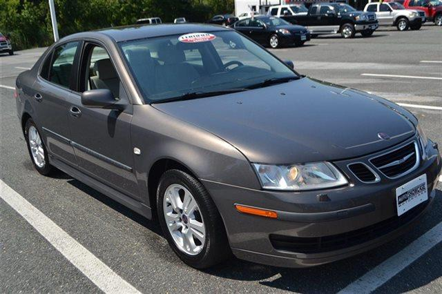 2007 SAAB 9-3 20T 4DR SEDAN titan gray metallic new arrival low miles this 2007 saab 9-3 4d