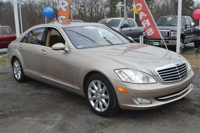 2007 MERCEDES-BENZ S-CLASS S550 4DR SEDAN pewter metallic low miles for a 2007 navigation h