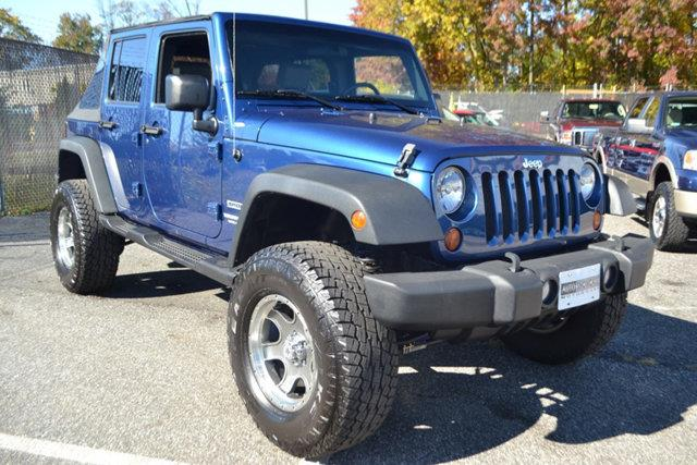 2010 JEEP WRANGLER UNLIMITED SPORT 4X4 4DR SUV blue this 2010 jeep wrangler unlimited 4dr 4wd 4dr