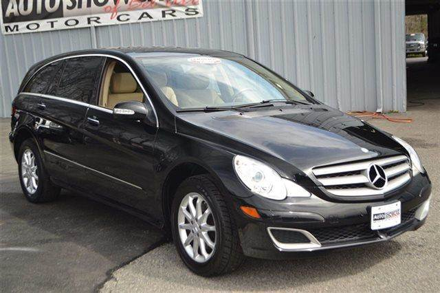 2007 MERCEDES-BENZ R-CLASS R350 AWD 4MATIC 4DR WAGON black warranty included